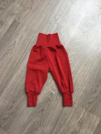 Engel-Natur merino wollen broek, rood