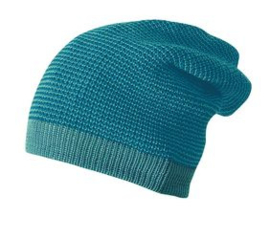 Disana long beanie, 50-54cm, blue lagoon