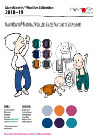 MaM hazelpants  conqueror, diverse kleuren