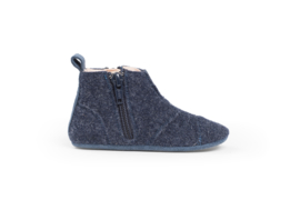 dusq first step shoes | wool - ocean blue