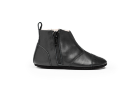 dusq first step shoes | leather-night black