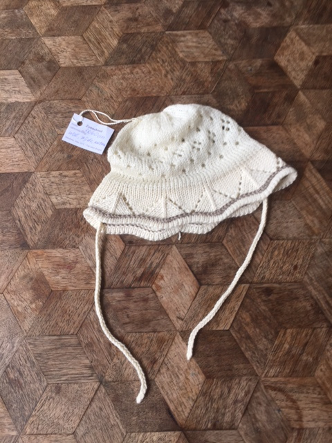 Oksana zonnepetje wol/zijde/katoen, 38-40cm