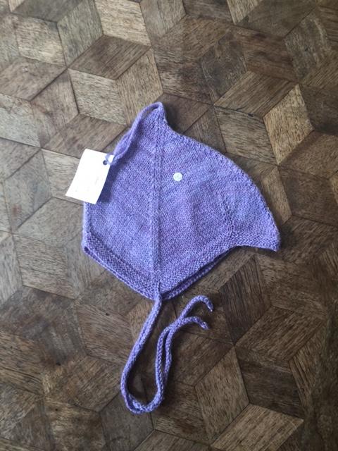 Oksana wol/zijden mutsje, 40-42cm