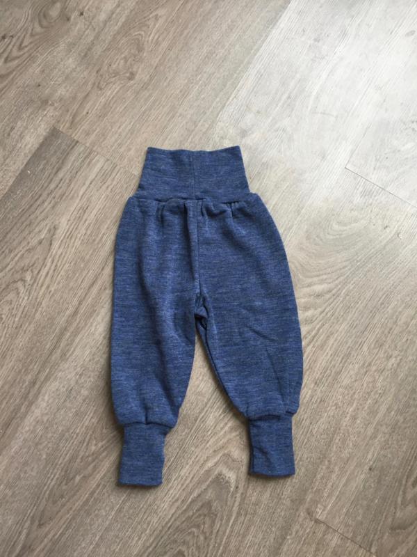 Engel-Natur merino wollen broek, blauw