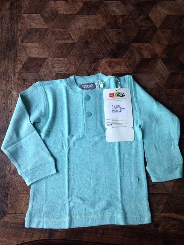 Bourette zijden shirt