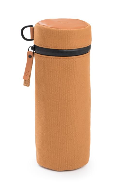 dusq bottle cover - sunset cognac