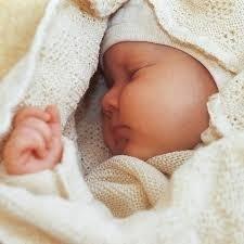 Disana wollen baby deken