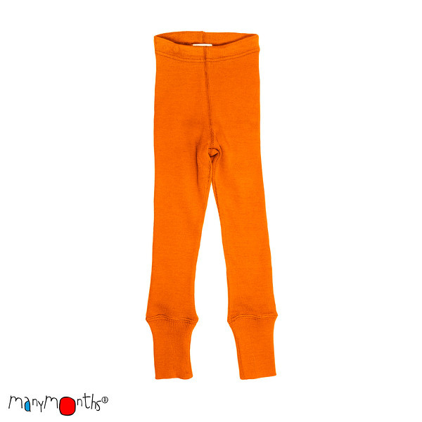 MaM wollen legging, Lionheart, festive orange