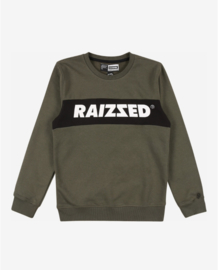 Raizzed sweater groen