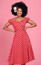 Collectif Stippen jurk