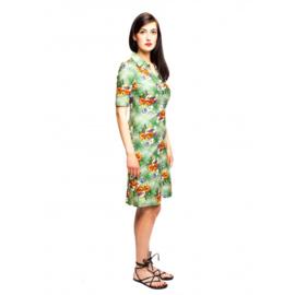 Tante Betsy jurk groen