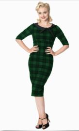 Banned jurk groen