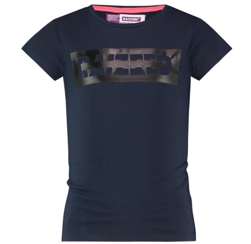 Raizzed shirt Zwart
