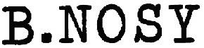 Logo Bnosy kinderkleding