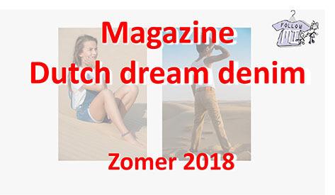 Magazine zomercollectie 2018 Dutch Dream Denim