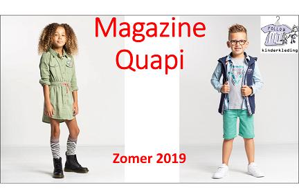 Magazine zomercollectie 2018 Quapi