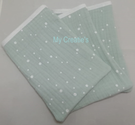 3-pak hydrofiel washandjes