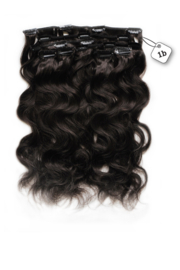 Clip in Extensions (Body Wave) kleur #1b
