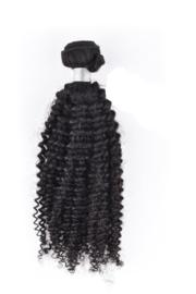 Kinky Curly Hair Weave (Natuurlijk Zwart)