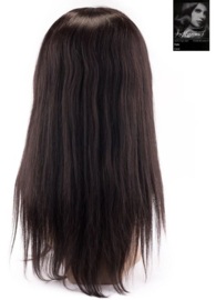 100% Virgin Front Lace Wig (Steil)