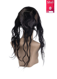 Indian (Shri) Human Hair 360º Frontal met Cap (Body Wave)