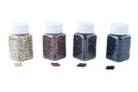 Microringen met / zonder siliconen