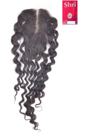 Indian (Shri) Human Hair Closure (18'' 4x4'' Deep Wave) 100% Density