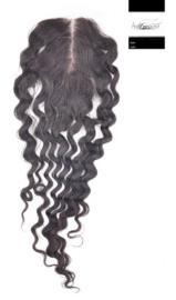 100% Virgin Hair Closure (Deep Wave)