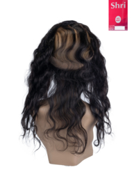 Indian (Shri) Human Hair 360º Frontal zonder Cap (Body Wave)
