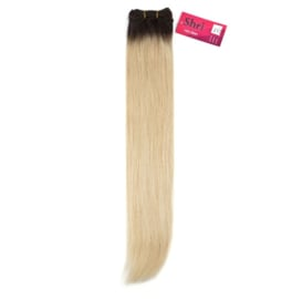 Indian (Shri) Ombre Hair weave (Steil)  Kleur 2/613