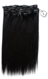 100% Human Hair Clip in Extensions (Steil) 45cm of 55cm v.a. €66,55
