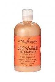 SheaMoisture Coconut & Hibiscus  CURL & SHINE Shampoo (384ml)