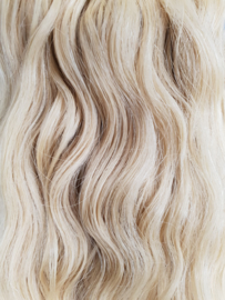 Braziliaans Haar Weave Curly (Blond #22)