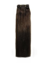 Indian (Shri) Hair weave (Steil) - #4 Chocolate Brown