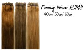 Straight, 100% Remy Fantasy Hair Weave  (Gekleurd)