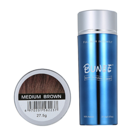 Bunee Hair Fibers - Medium Brown
