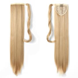 "Wrap Around Ponytail - Premium Synthetic Fiber 22"" Straight (#27/613) Dark Blond/ Light Blond"