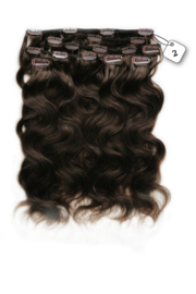 Clip in Extensions (Body Wave) kleur #2
