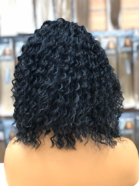 Synthetische Lace Wig Deep Wave Black - Joan
