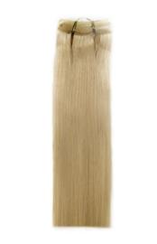Indian (Shri) Hair weave (Steil) - #60 White Blonde