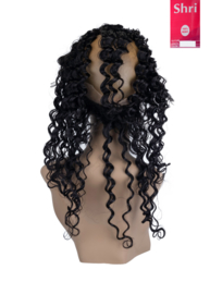 Indian (Shri) Human Hair 360º Frontal zonder Cap (Deep Wave)