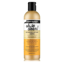 Aunt Jackie's Oh so clean! moisturizing & softening shampoo 355ml