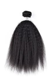 Kinky Straight Hair Weave (Natuurlijk Zwart)