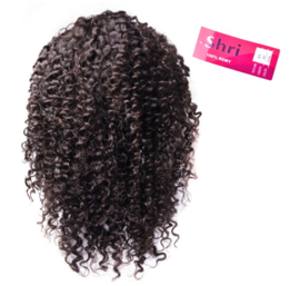 Indian (Shri) Human Hair Front Lace Wig (Jerry Curl)