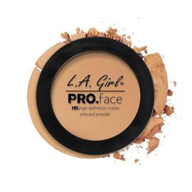 L.A. Girl HD Pro Face Pressed Powder - Medium Beige (GPP609)