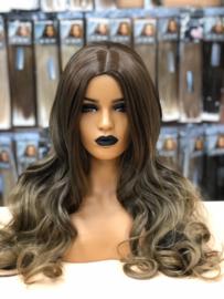 Synthetische Wig CIARA - Ombre Chocolate Brown/Honey - Ciara