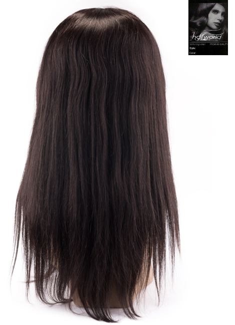 schnelle Farbe New York attraktiver Preis 100% Virgin Front Lace Wig (Steil) | FRONT LACE WIGS & Full ...