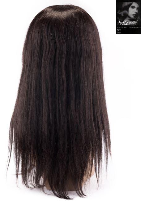 100% Virgin Front Lace Wig (Steil)