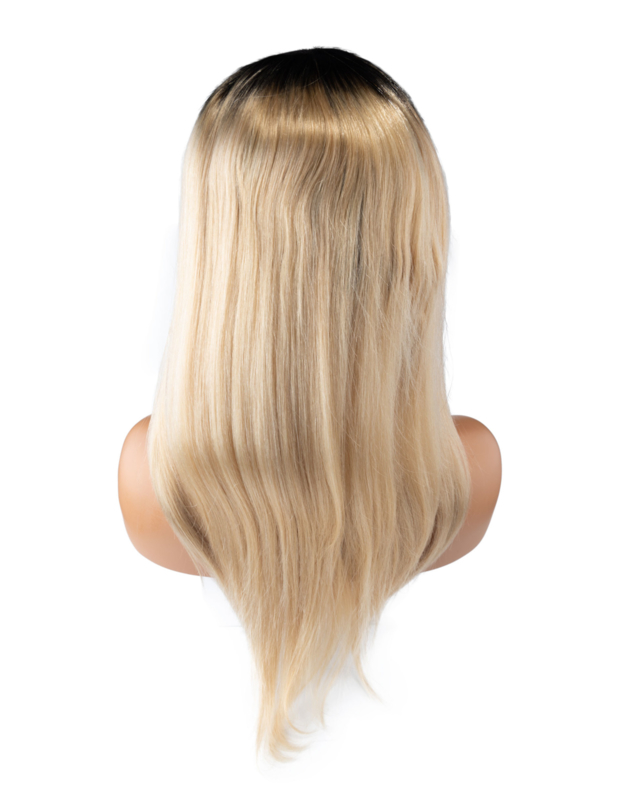 Indian (Shri) Human Hair (Roots #1b/#613) Front Lace Wig