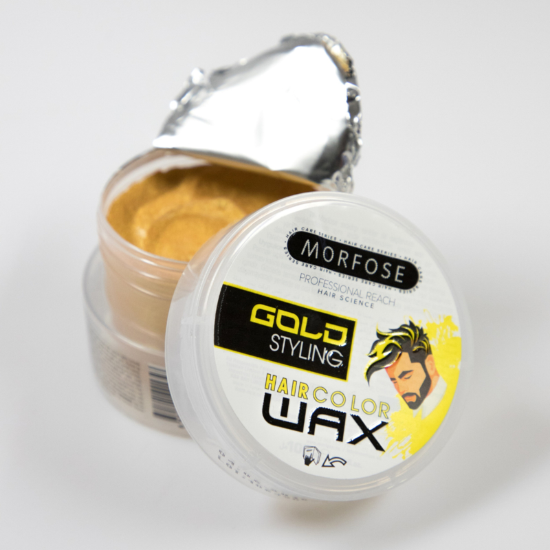 Morfose Haircolorwax - Gold 100ml